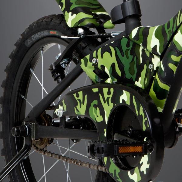 Bicicleta Groove Infantil Camuflada TAM 16