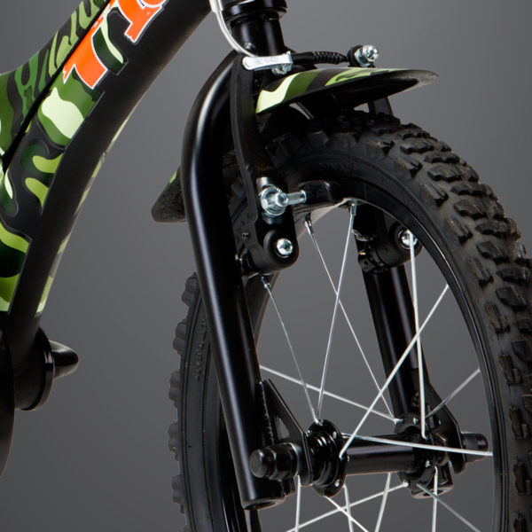 Bicicleta Groove Infantil Camuflada Verde Tito Aro 16