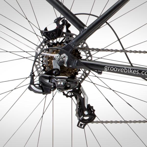 Bicicleta Groove Urban 21V TAM: 18 - Preto Fosco