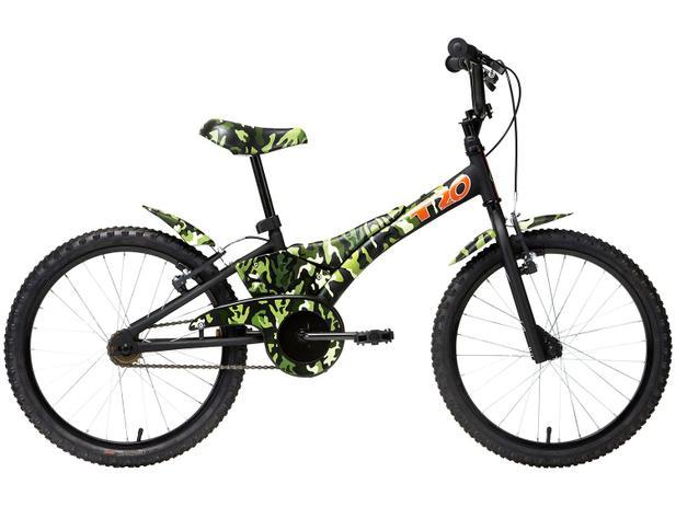 Bicicleta Infantil 20 Camuflada Verde TITO