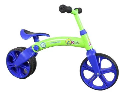 Bicicleta Infantil De Equilíbrio Aro 12  Mazzaron VERD/AZL