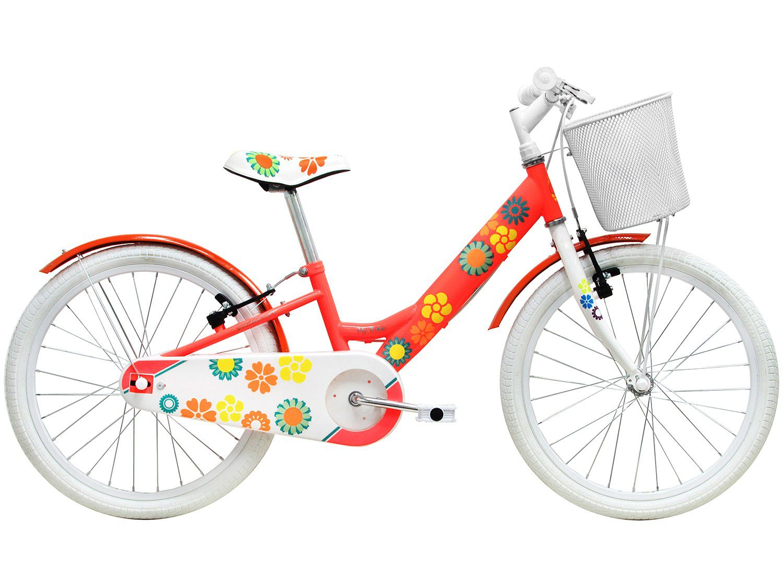 Bicicleta Infantil My bike Laranja aro 20