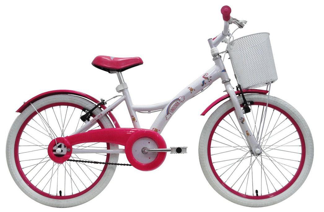 Bicicleta Infantil Unilover Groove com Cestinha Unicórnio