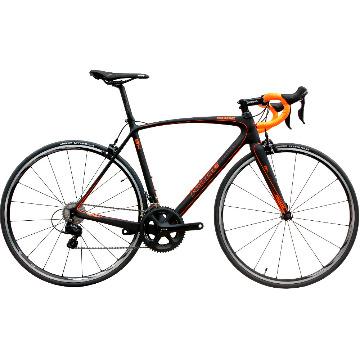 Bicicleta Kode Carbon Preta/Laranja