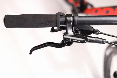 Bicicleta Kode Stone Preto/Vermelho+ Brinde