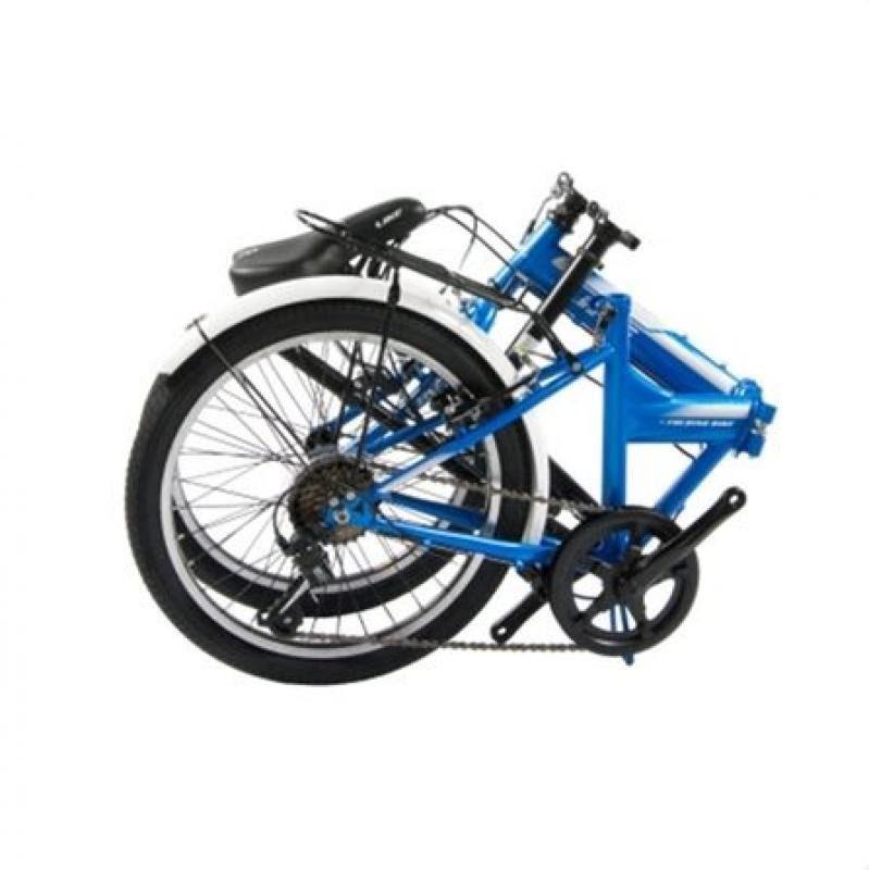 Bicicleta Like Dobrável Azul
