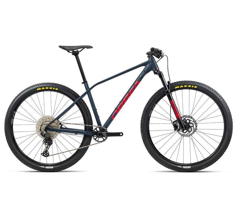 Bicicleta Orbea Alma H50 Tam 19 Azul com Vermelho