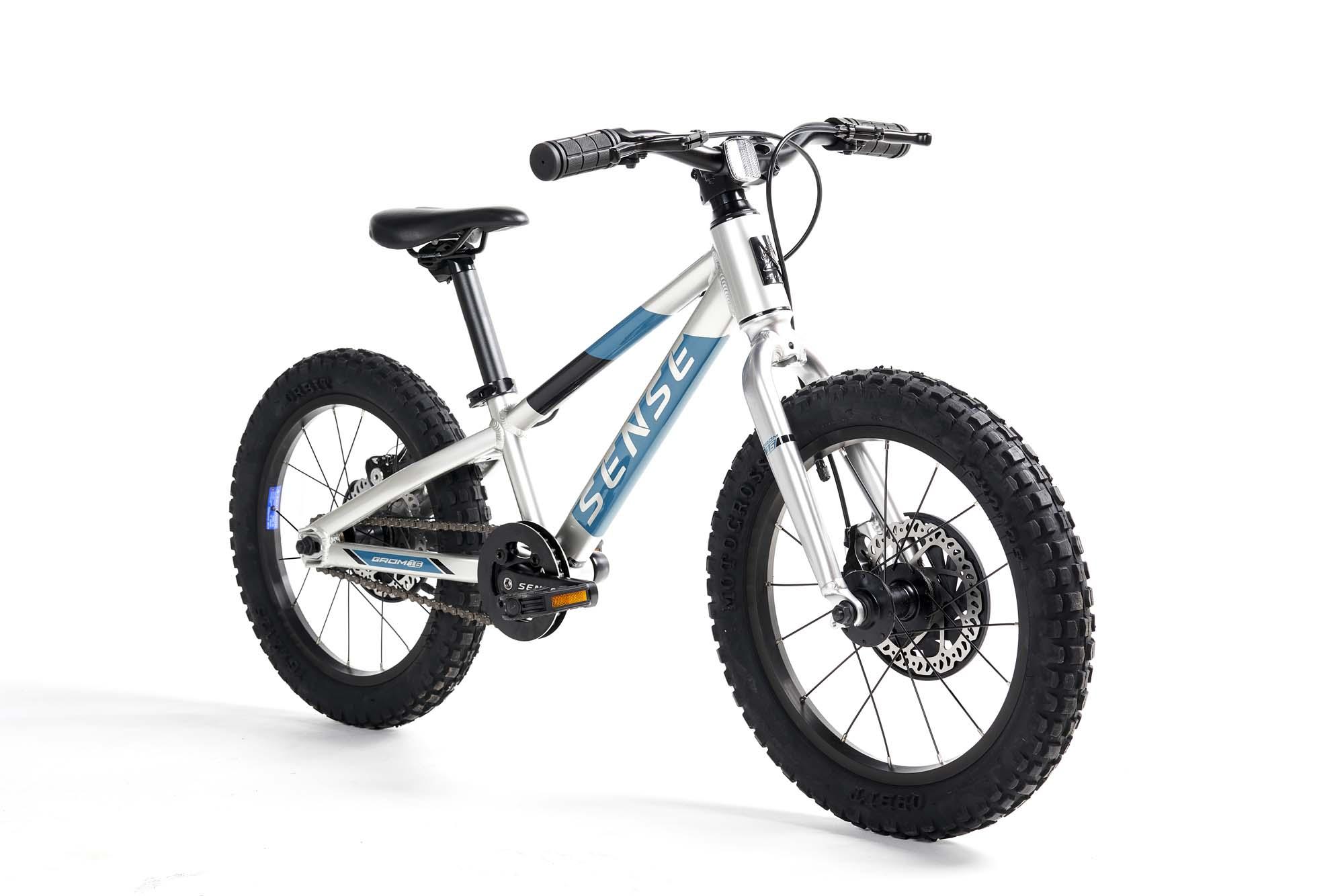 Bicicleta Sense Alum Grom Aro 16 Alum/Aqua