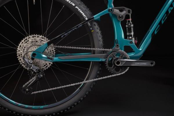 Bicicleta Sense Carbon Invictus Pro 2021/22 AQUA/CZA TAM M