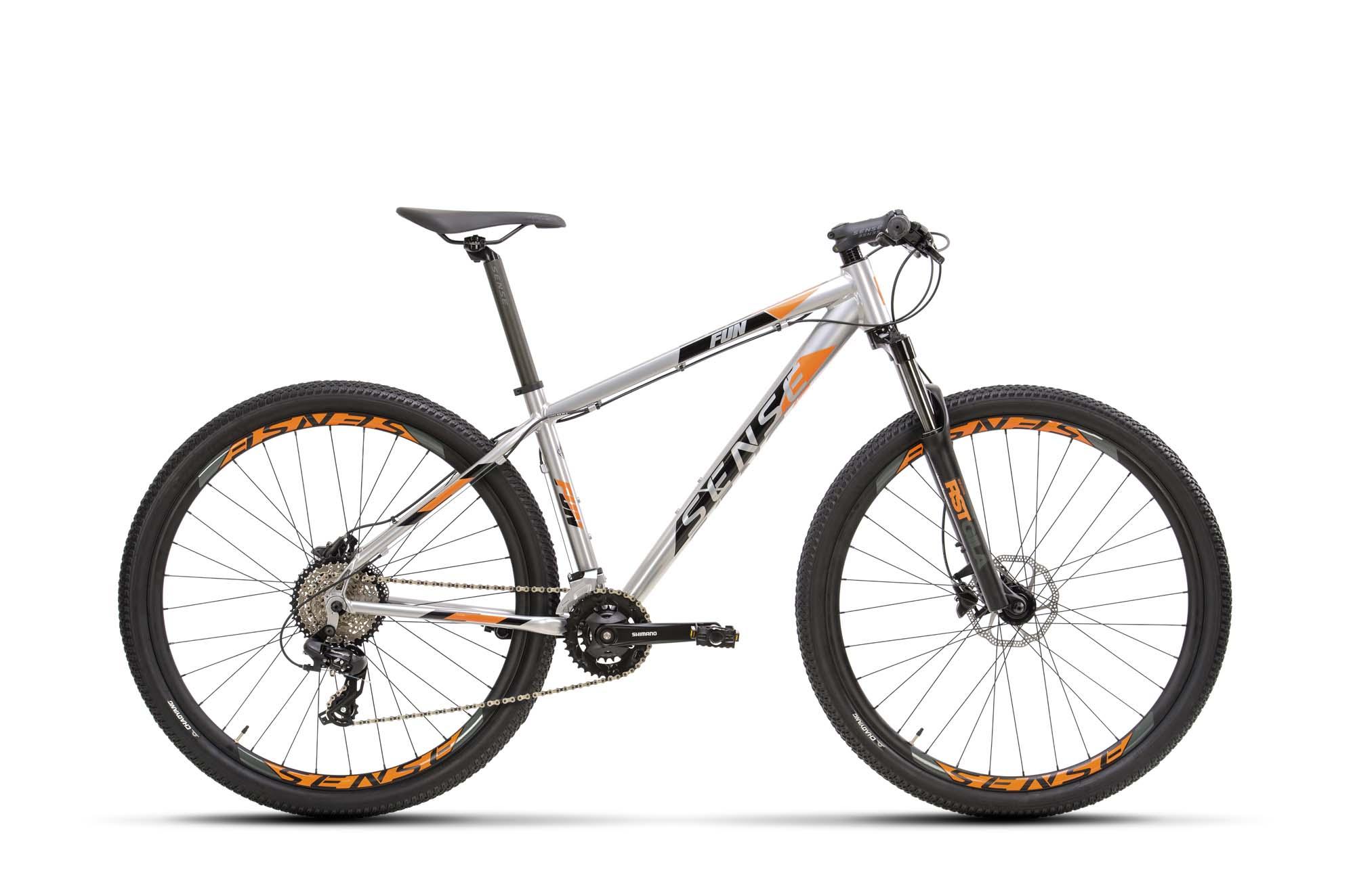 Bicicleta Sense Fun Comp TAM XL Alum/Lrj