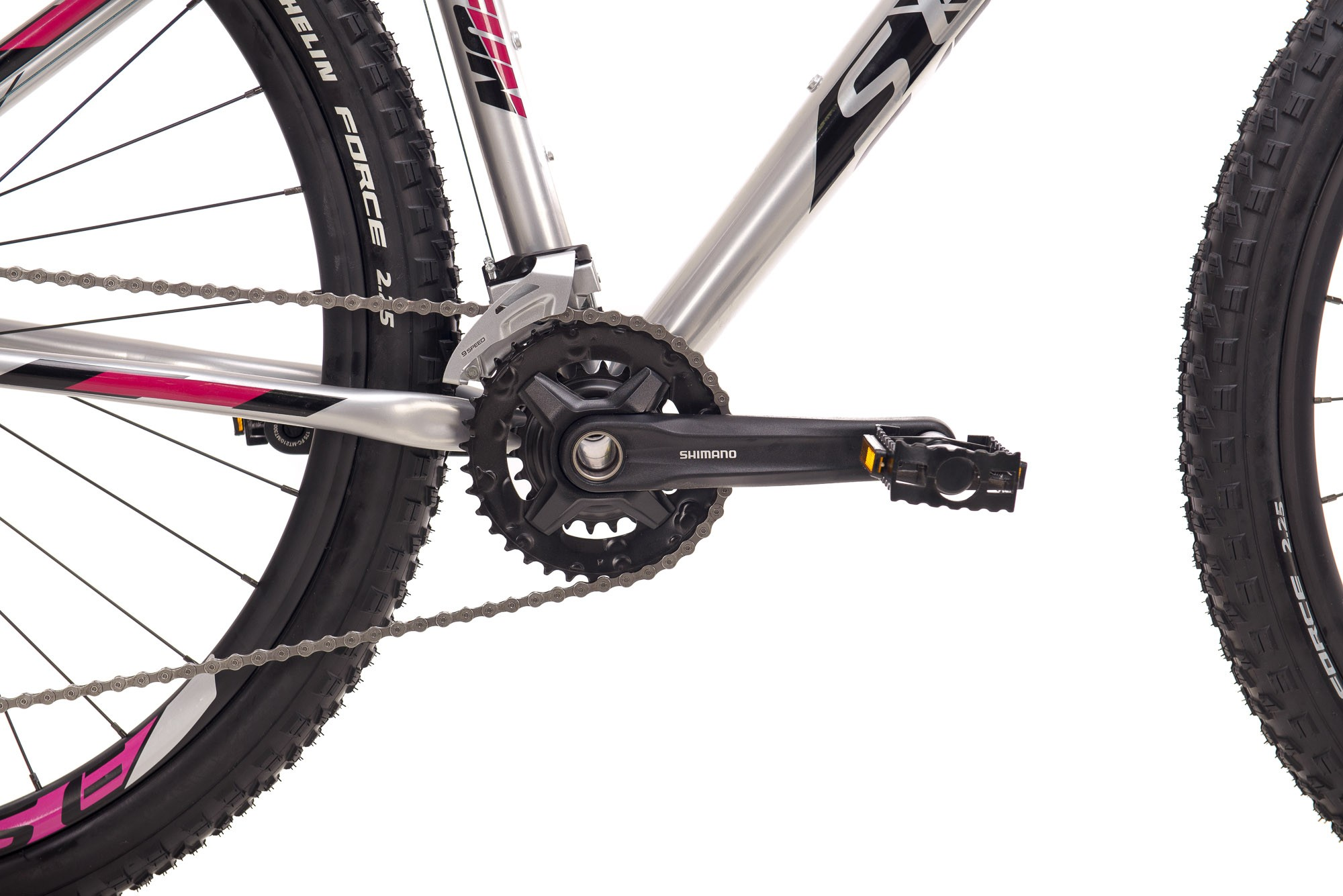 Bicicleta Sense Fun Evo 2021/22 ALUM/ROXO TAM S