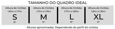 Bicicleta Sense One 2021/22 Aqua/Lrj Tam 19