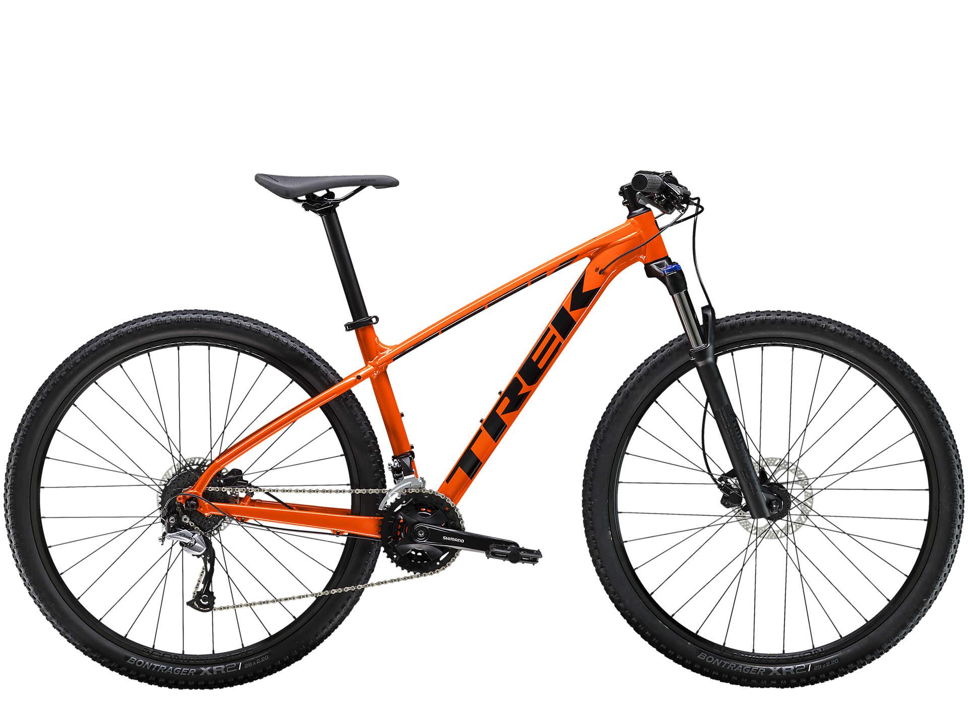 Bicicleta Trek Marlin 7 Laranja/Metalico