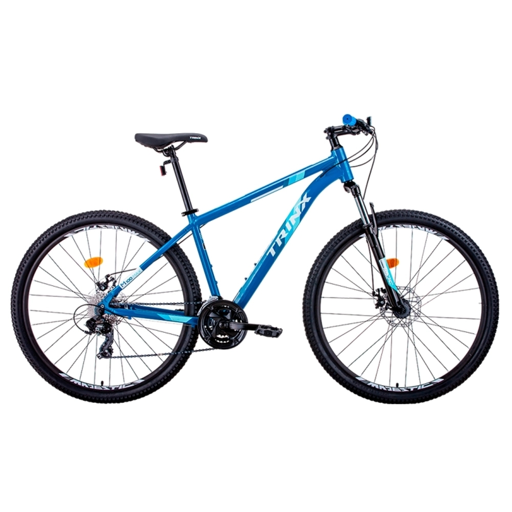 Bicicleta Trinx M100 Max Azul + Brinde