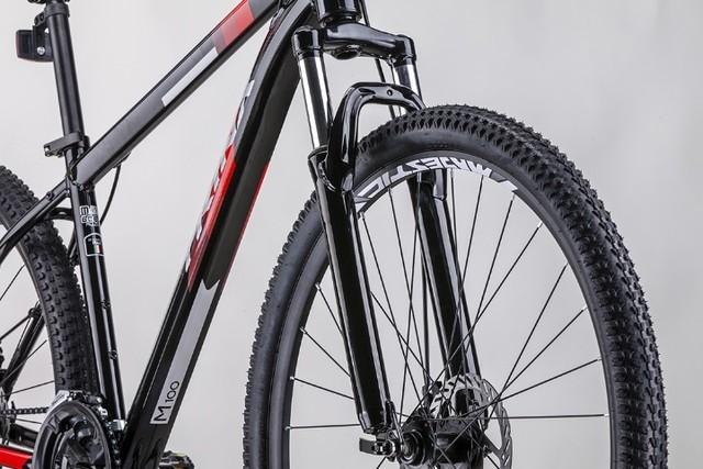 Bicicleta Trinx M100 MAX Vermelha