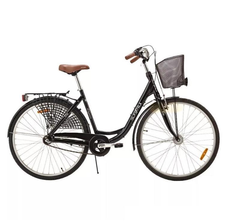 Bicicleta Urbana Feminina Retrô Aro 28 Alumínio Kayoba City Elegance