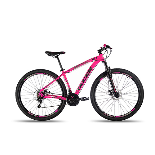 Bicicleta Aro 29 Vision GT X2 Rosa Neon TAM S (P)