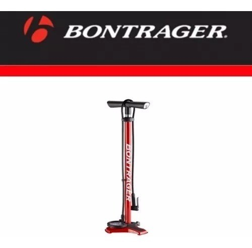 Bomba Ar Bontrager Piso Pé Chão Dual Charger Mtb Speed Lazer