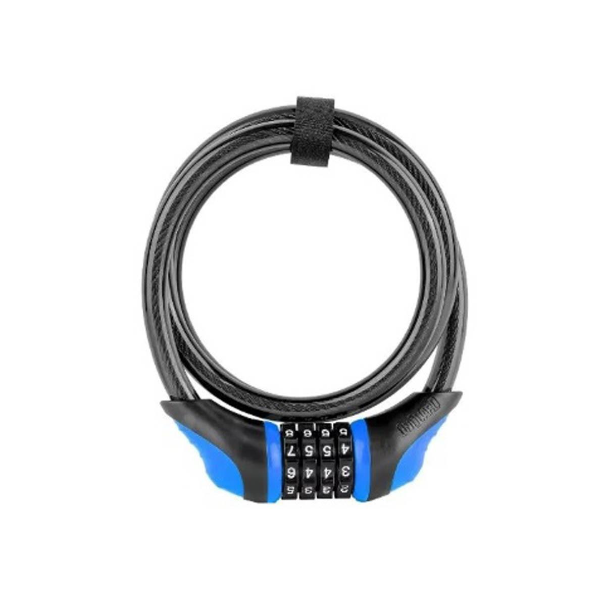 Cadeado Onguard 8169 Neons Cabo Lock Codificado C. Senha Azl