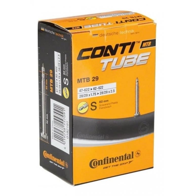 Câmara de Ar Presta 29 MTB Continental 60mm