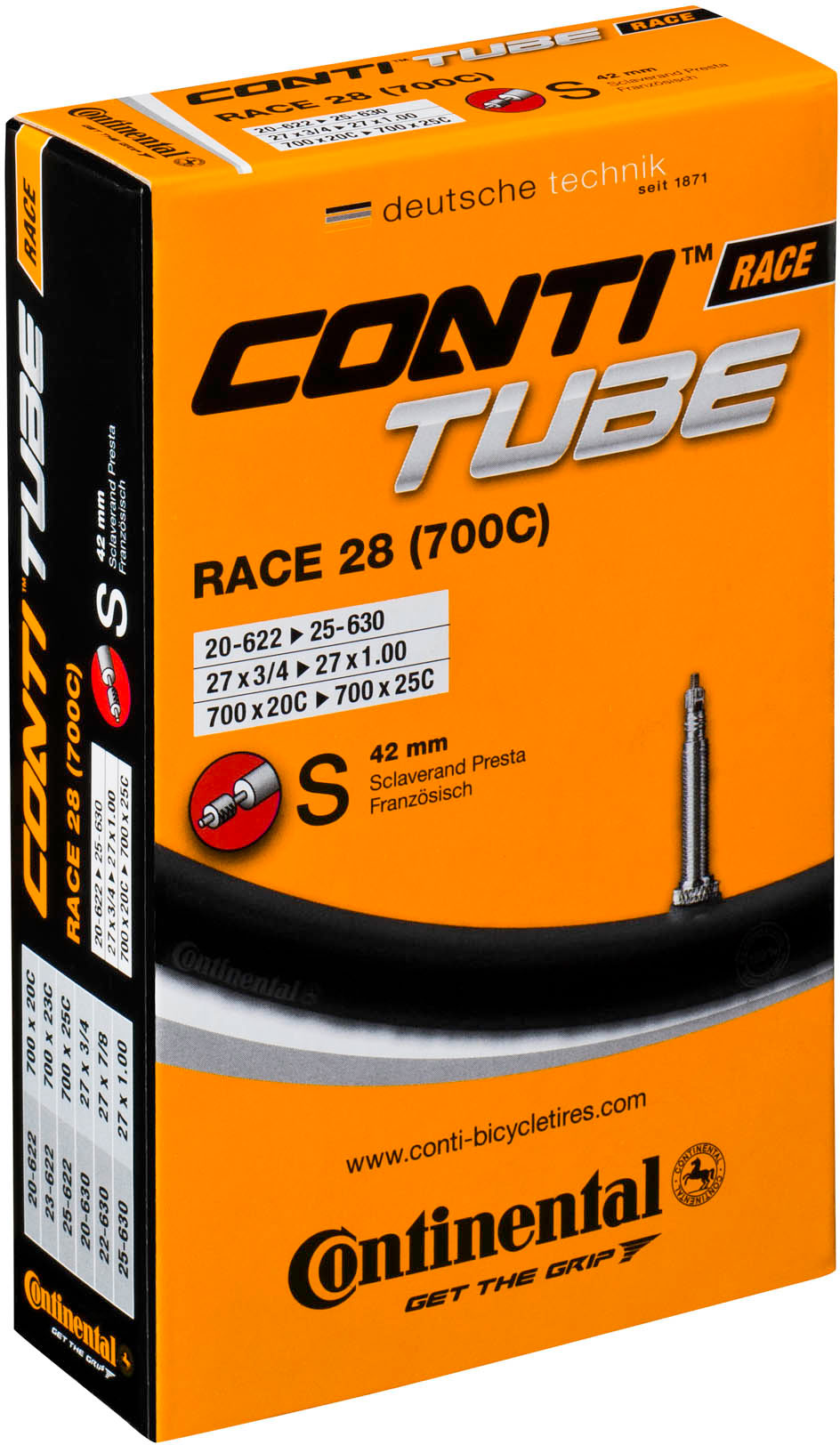 CAMARA CONTINENTAL RACE 28 - [700 X 18/25C - S80]