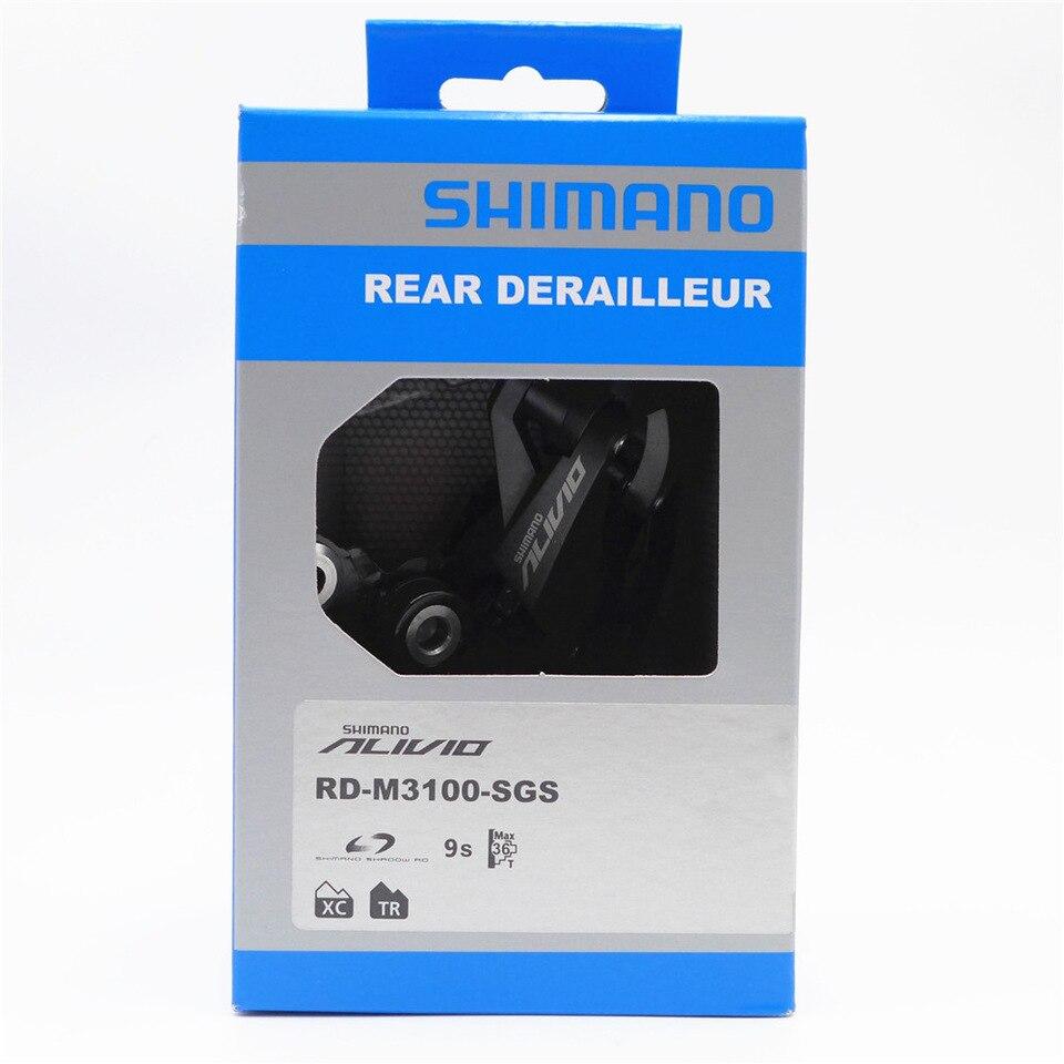Câmbio Traseiro Shimano Alivio Rd-m3100 Sgs 9v