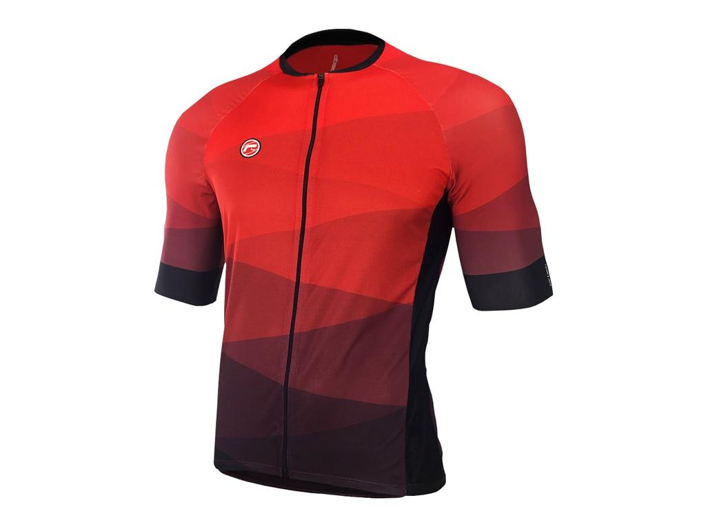 Camisa Ciclismo Barbedo Hurricane Vermelha
