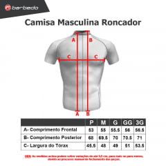 Camisa Ciclismo Barbedo Vanguard Roncador Masc