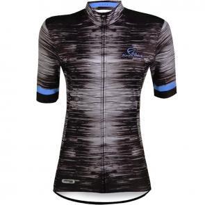 Camisa Ciclismo Feminina Luck Mauro Ribeiro Azul/preta