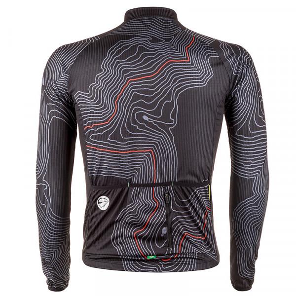 Camisa Ciclismo Manga Longa Mauro Ribeiro Short Cut