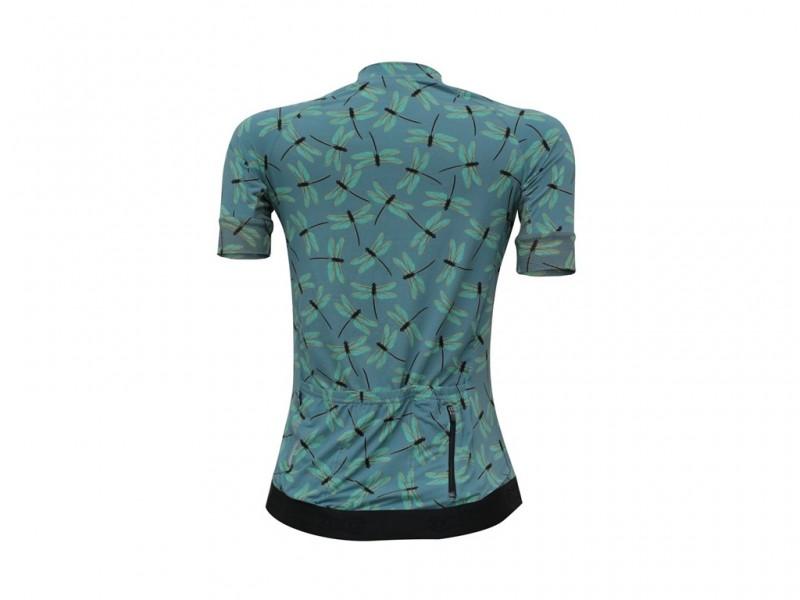 Camisa Ciclismo Marcio May Feminina - Funny Dragonfly