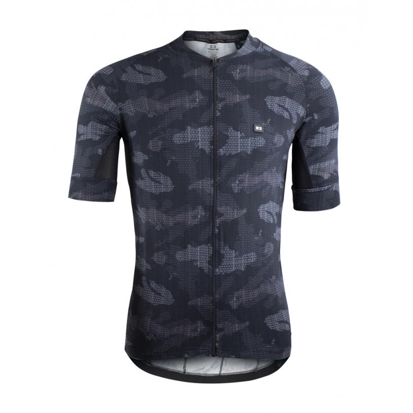 Camisa Ciclismo Mas Marcio May Funny Prem Camouflaged Carbon