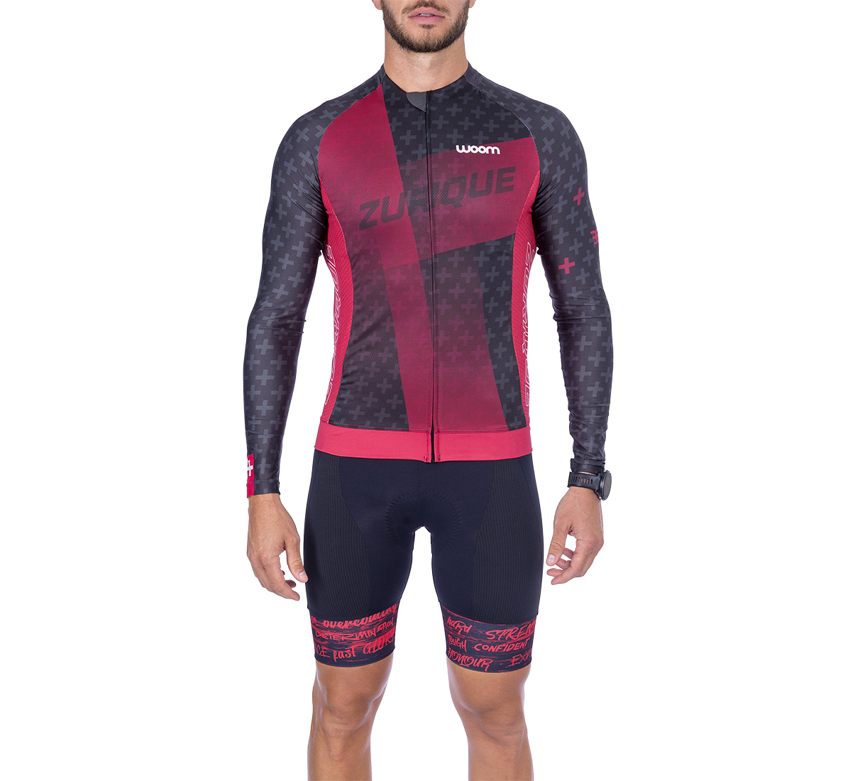 Camisa Ciclismo ML Supreme Zurique Masculina