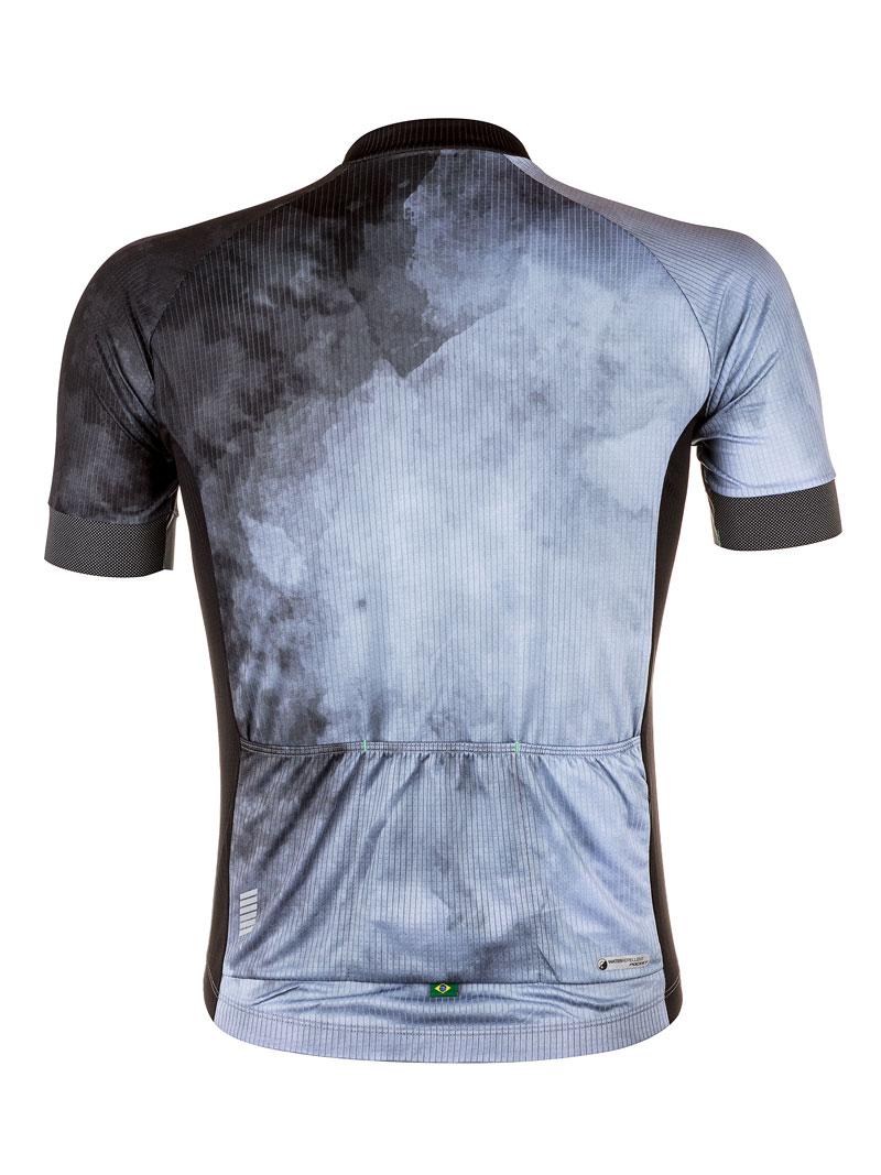 Camisa de Ciclismo Masc Mauro Ribeiro Blur