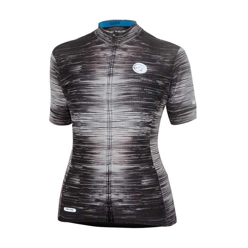 Camisa Feminina Ciclismo Mauro Ribeiro - Luck Cinza