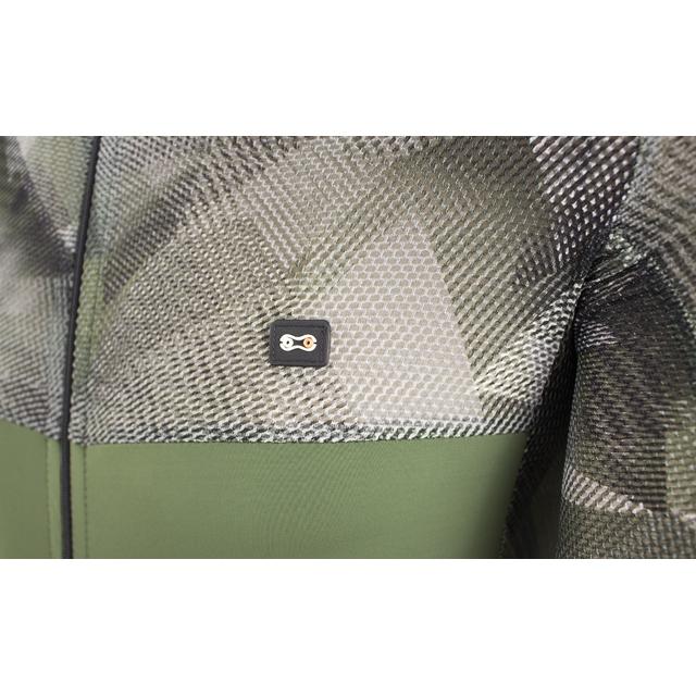 Camisa Masc Marcio May Ellegance Verde Militar/Grafiato