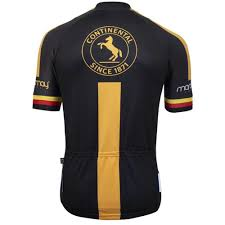 Camisa Royalpro Marcio May Continental Abus Preta Ciclismo