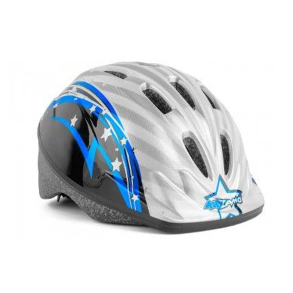 Capacete Infantil Kz-008 Estrela Azul
