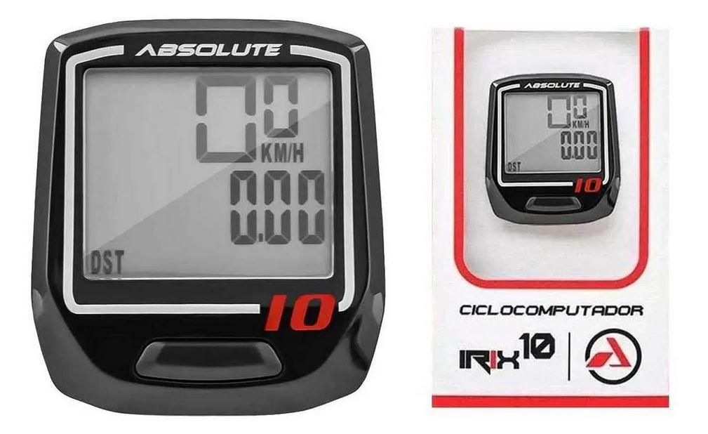 Ciclocomputador Velocímetro Bike Absolute Irix 10w Sem Fio
