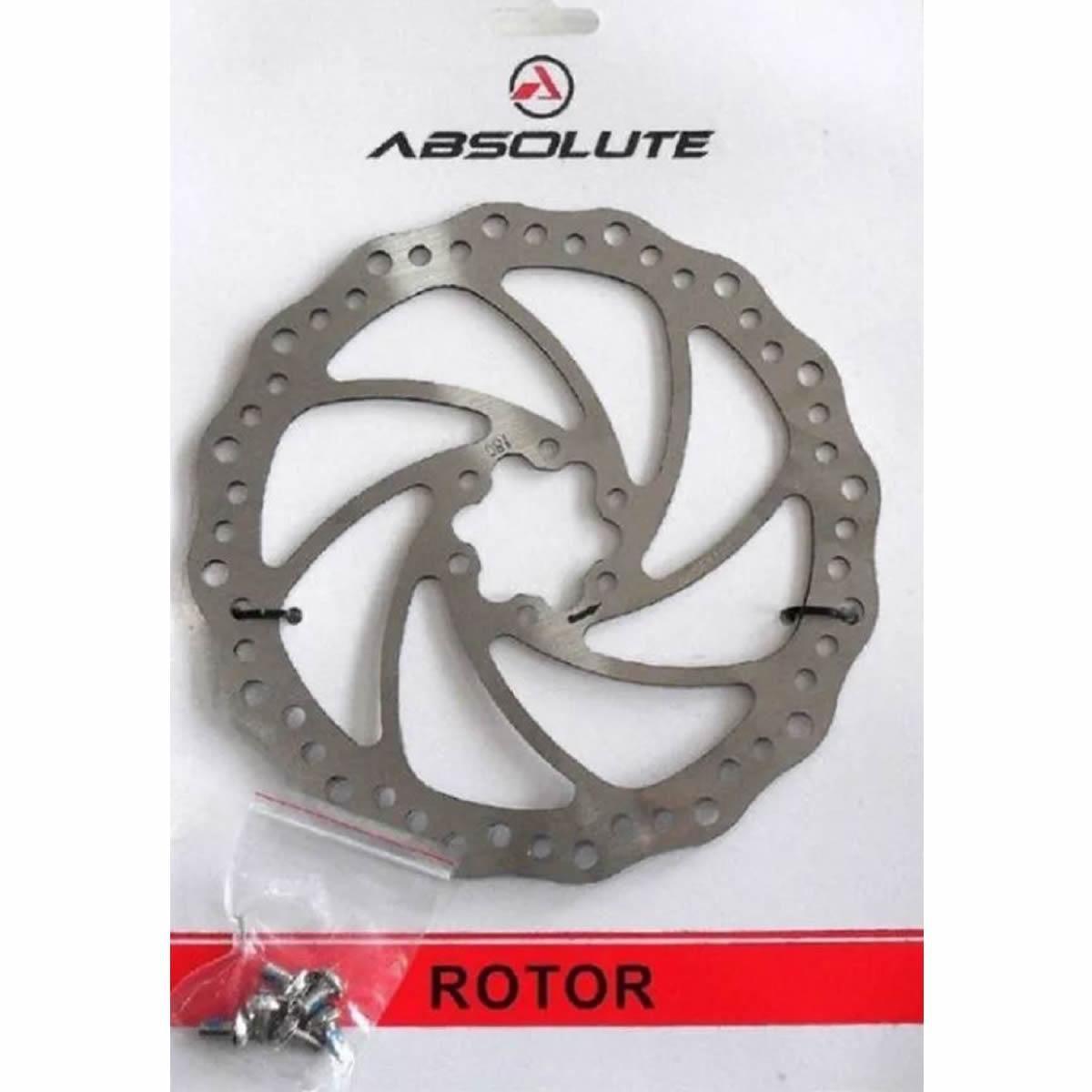 Disco Rotor Para Freio De Bicicleta Absolute 160mm Yrt01