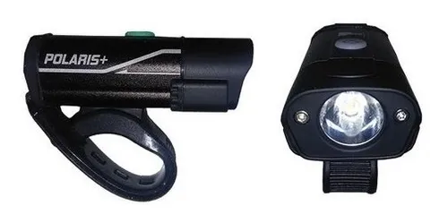 FAROL EPL-3291E3 POLARIS + SUPER LED 400 LUMENS USB PRETO EPICLINE