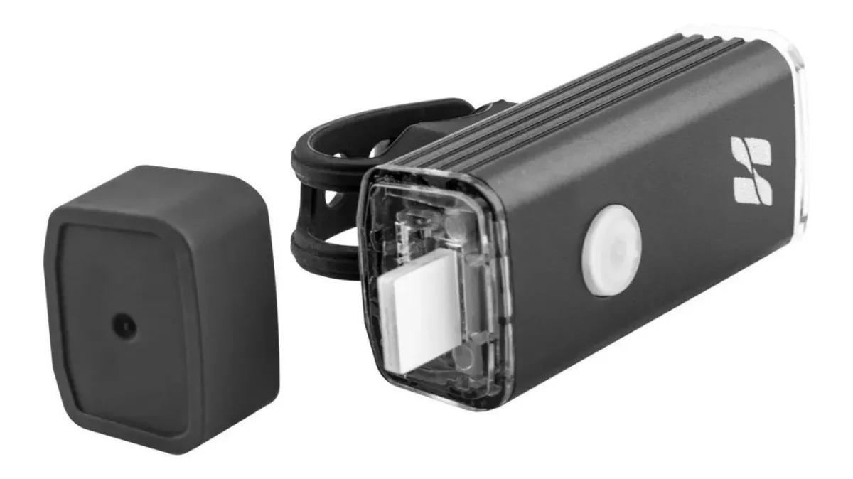 FAROL RECARREGAVEL 3 FUNCOES USB 180 LUMENS HIGH ONE ON