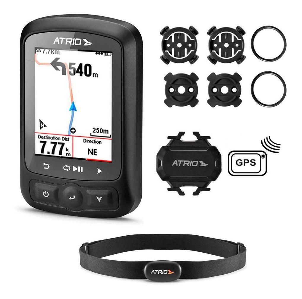 Gps Atrio Titanium Bi155 Bluetooth Sensores + Cinta + Mapas