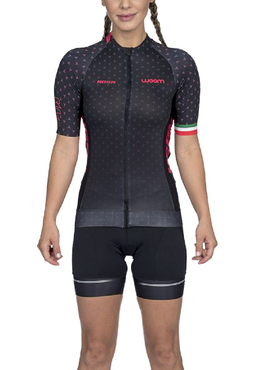 Macaquinho Ciclismo Woom Supreme Rosa 2020 Fem