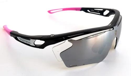 Óculos Ciclismo Dvorak One Rosa 3 Lentes