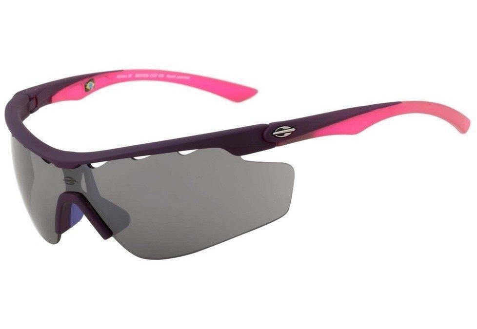 Óculos De Sol Mormaii Athlon III Roxo E Rosa Fosco