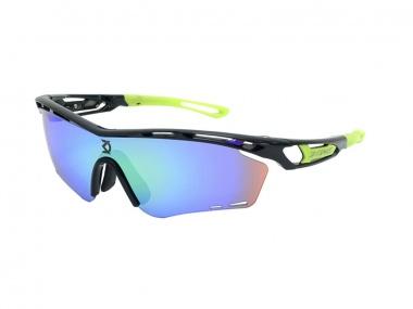 Óculos DVorak One 3 Lentes Preto-Verde Neon