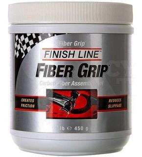 Pasta Fiber Grip Finish Line Graxa Para Peças Carbono 450g
