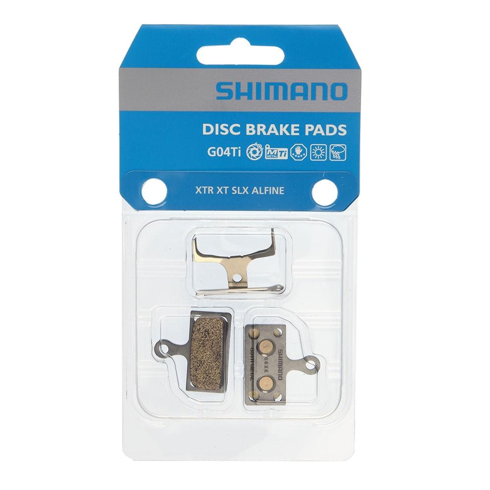 Pastilha De Freio Shimano G04ti Metal