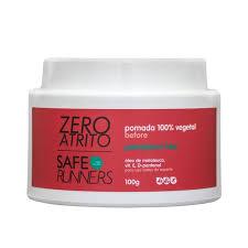 Pomada 100% Vegetal Safe Runners Zero Atrito Evita Assaduras